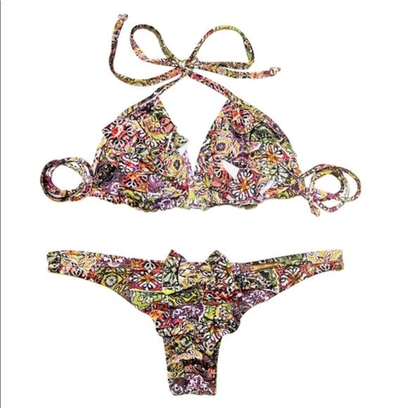 San Lorenzo Other - San Lorenzo LA BOHEME Mosaic Stone Bikini